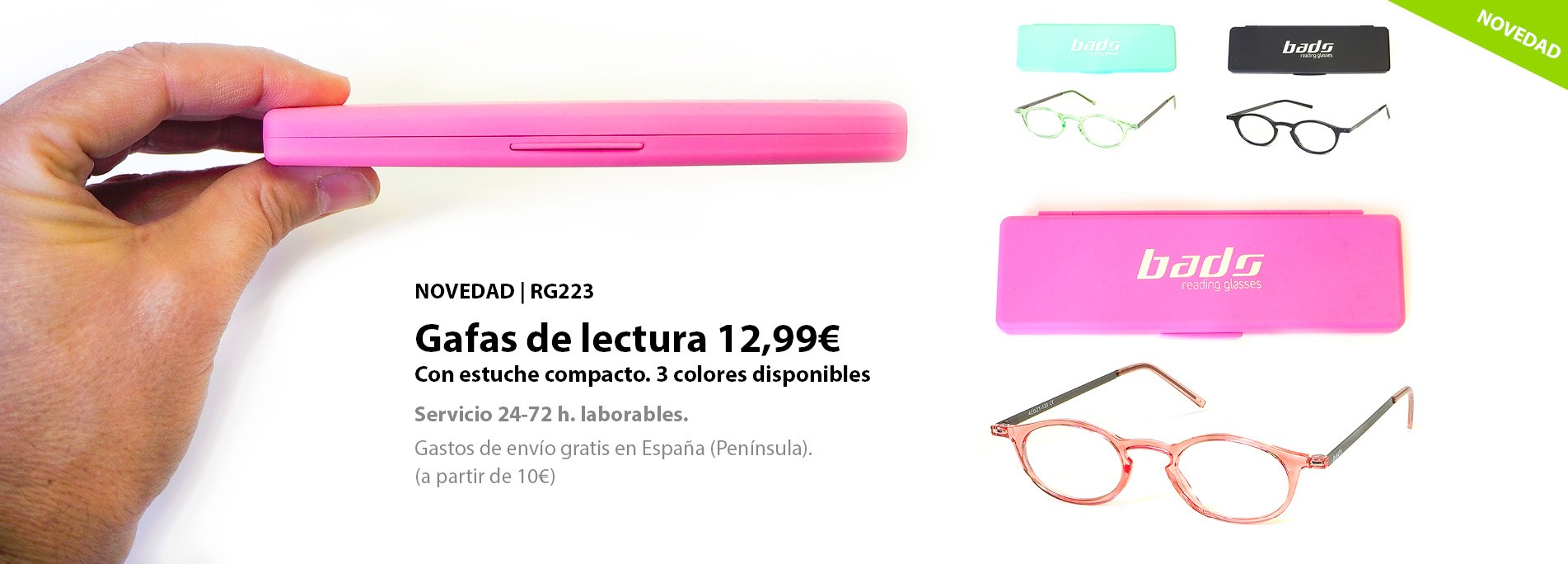 RG223 reading glasses