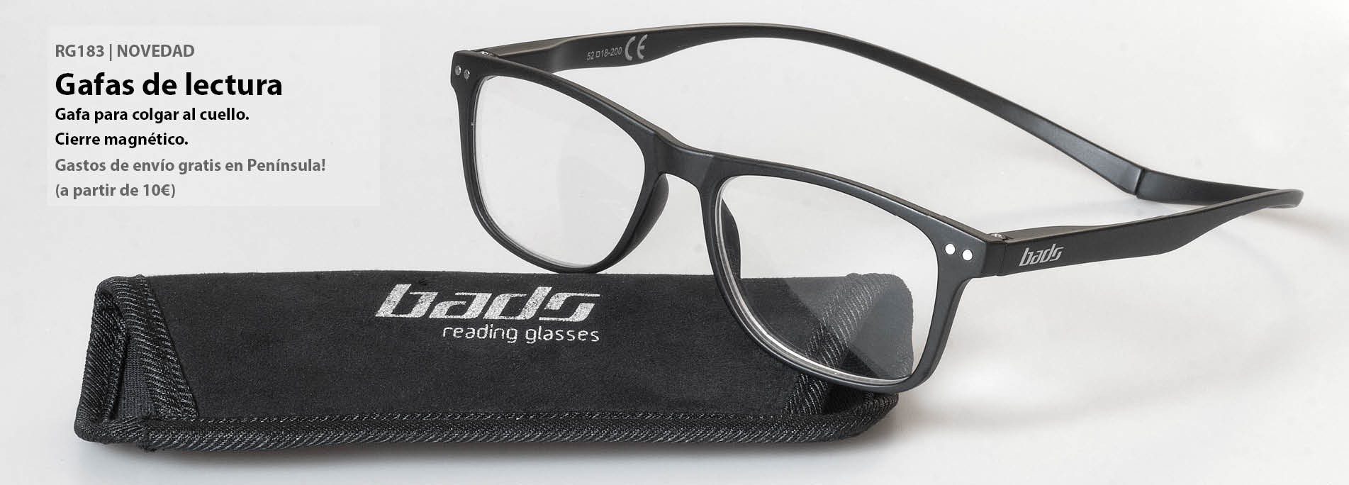 RG183 Bads reading glasses
