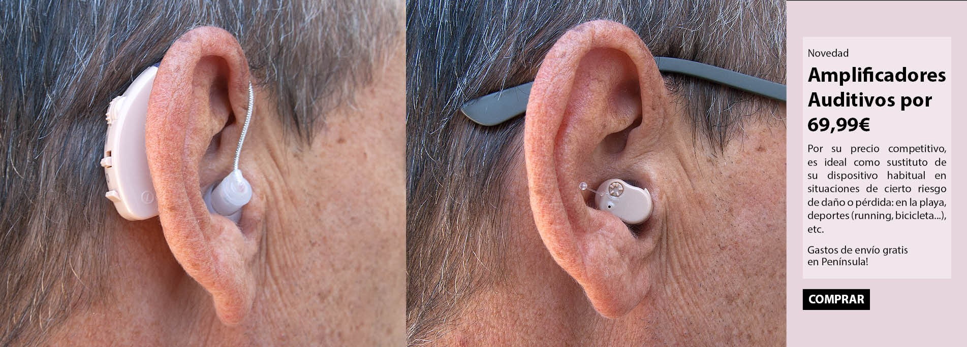 Hearing Aid amplifier